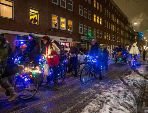 Amsterdam Light Parade in De Westkrant