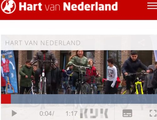 Slowbiking in item van Hart van Nederland