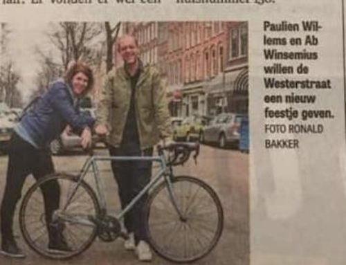 Cycle Fun mede organisator van de Ronde van de Westerstraat