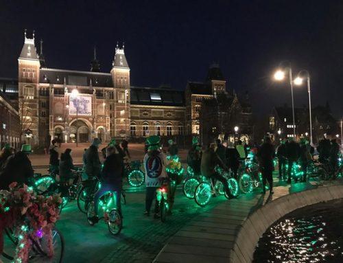 St Patrick's Bike Parade a big succes!