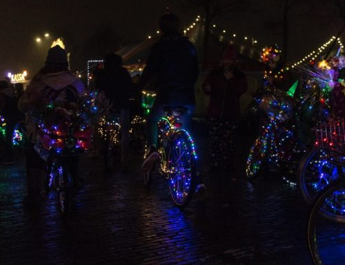 Iamexpat writing about our Amsterdam Light Parade