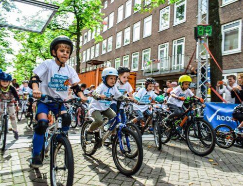 Interview met Vrije Tijd Amsterdam over de Dikke Banden Races 12&13 september.