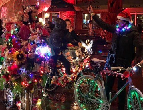 NieuwsFiets.nu doet verslag over onze Amsterdam Light Parade by bikes