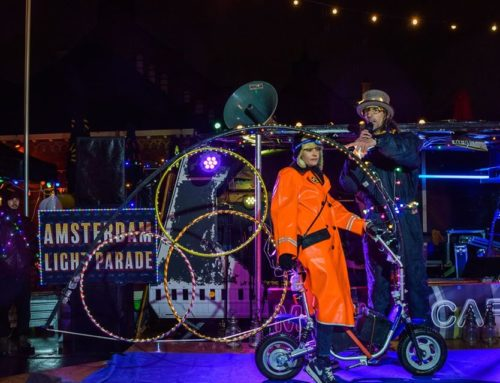 Impressie filmpje van de Amsterdam Light Parade by bikes 2019